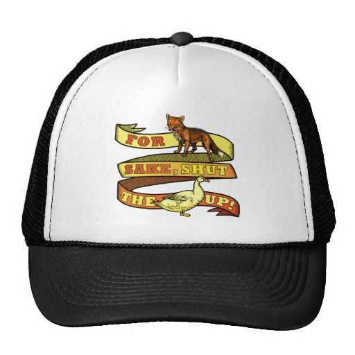 Funny Fox Duck Animal Pun Hats