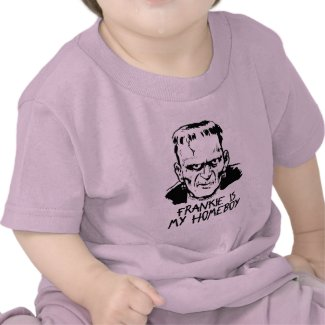 Funny Frankenstein Halloween Baby T-Shirt