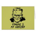Funny Frankenstein Halloween Card
