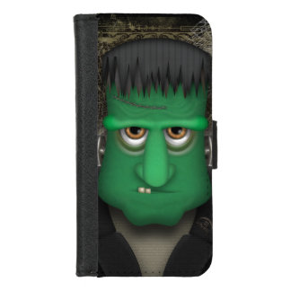 Funny Frankenstein Halloween Costume iPhone 8/7 Wallet Case