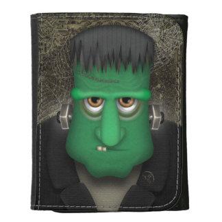Funny Frankenstein Halloween Costume Leather Wallets