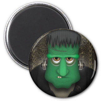 Funny Frankenstein Halloween Costume Magnet