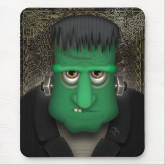 Funny Frankenstein Halloween Costume Mouse Pads