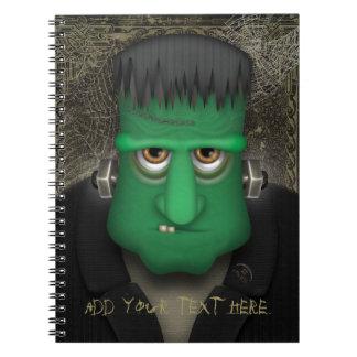 Funny Frankenstein Halloween Costume Note Book
