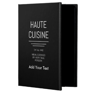 Funny French Chef Haute Cuisine Powis iPad Air 2 Case