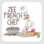 Funny French Chef Sticker