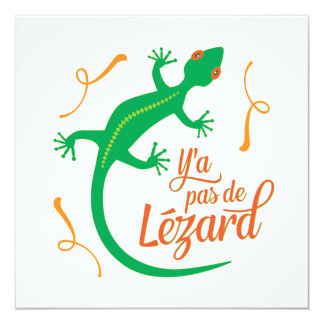 Funny French Expressions: There's No Lizard Card