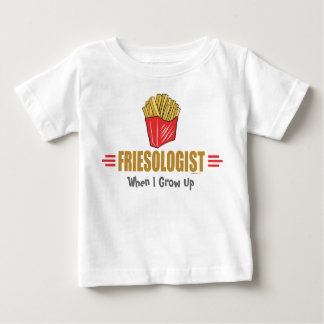 Funny French Fries Baby T-Shirt