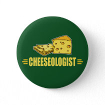 Funny French Fries Button
