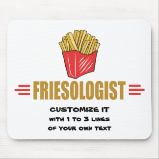 Funny French Fries Mouse Pad