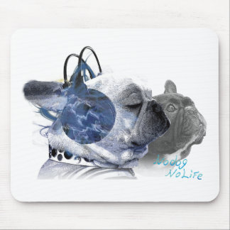funny frenchbulldogs icon mouse pad