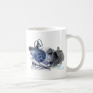 funny frenchbulldogs icon coffee mug