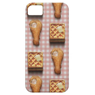 Funny fried chicken and waffles hipster kitsch iPhone SE/5/5s case