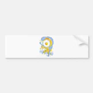 Funny_Fried_Egg Bumper Sticker