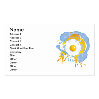 Funny_Fried_Egg Business Card