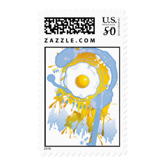 Funny_Fried_Egg Postage