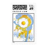 Funny_Fried_Egg Postage Stamps