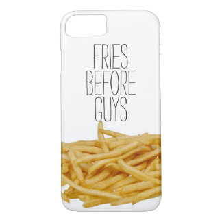 Funny fries before guys hipster humor girly girl iPhone 8/7 case
