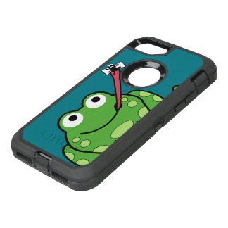 Funny Frog and Fly OtterBox Defender iPhone 8/7 Case