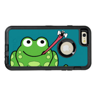 Funny Frog and Fly OtterBox Defender iPhone Case