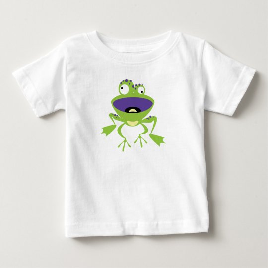 Funny Frog Baby T-Shirt