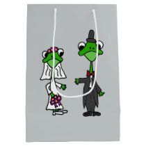 Funny Frog Bride and Groom Gift Bag