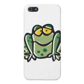 Funny Frog Cartoon iPhone SE/5/5s Case