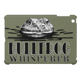 Funny Frog Eater Bullfrog Whisperer Cover For The iPad Mini