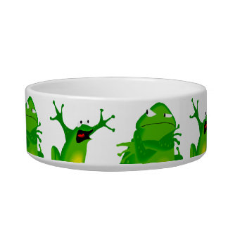 Funny Frog Emotions Angry Mad Curious Scared Frogs Bowl