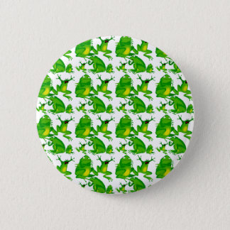 Funny Frog Emotions Mad Curious Scared Frogs Button