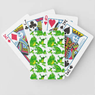 Funny Frog Emotions Mad Curious Scared Frogs Card Deck