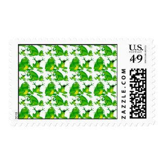 Funny Frog Emotions Mad Curious Scared Frogs Postage