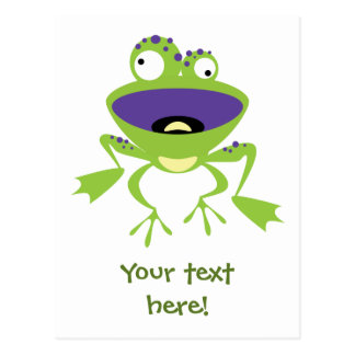 Funny Frog Post Cards