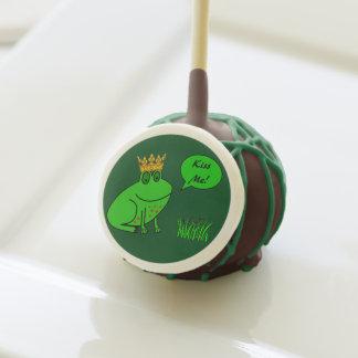 Funny Frog Prince - Frog Cake Pops