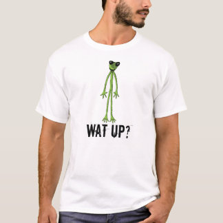 Funny FROG T-shirt, Wat up? T-Shirt