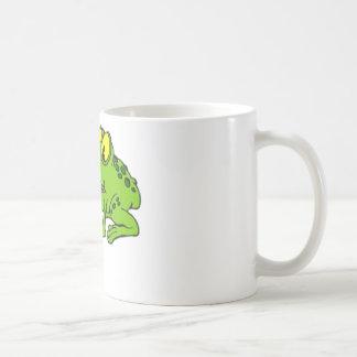 Funny Frog with long Tongue Coffee Mug