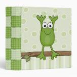 funny froggy frog binders