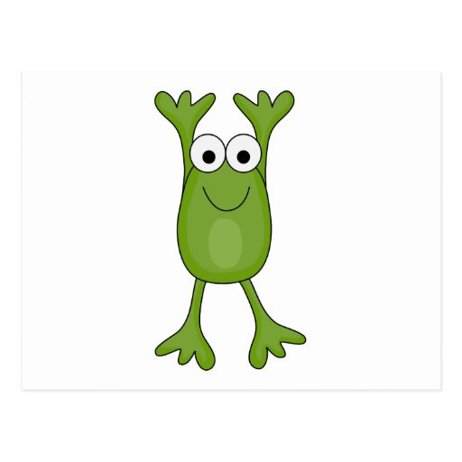 funny froggy frog post cards