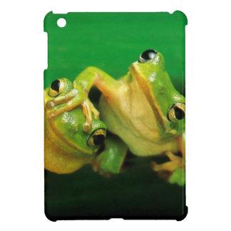 Funny Frogs iPad Mini Covers