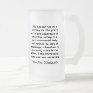 Funny frosted beer mugs birthday humor gifts