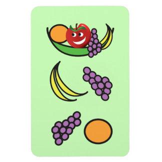 Funny Fruit Bowl Vinyl Magnets