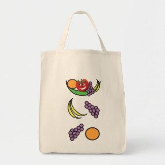 Funny Fruit Bowl Tote Bag