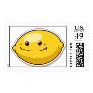 Funny Fruit with Expression - Lemon Postage