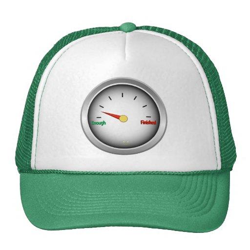 funny fuel gauge smiler mesh hats