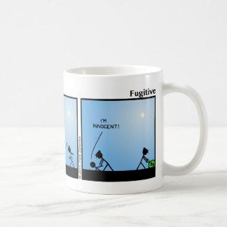 Funny Fugitive Stickman Mug - 023