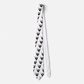 Funny Full beard Neck Tie