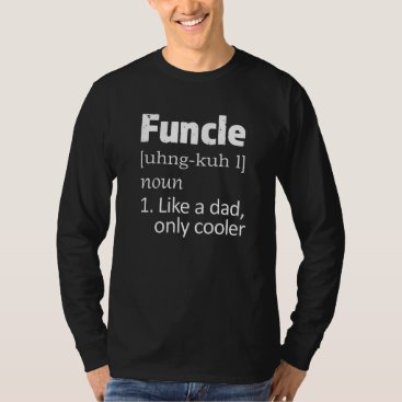 Beach Themed Funny Funcle Uncle saying Mens shirt