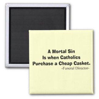 Funny Funeral Director Gifts Refrigerator Magnets