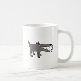 Funny Funky Barking Gray Watchdog Coffee Mug