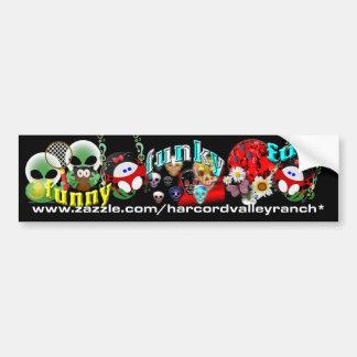 Funny Funky Fun Bumper Sticker